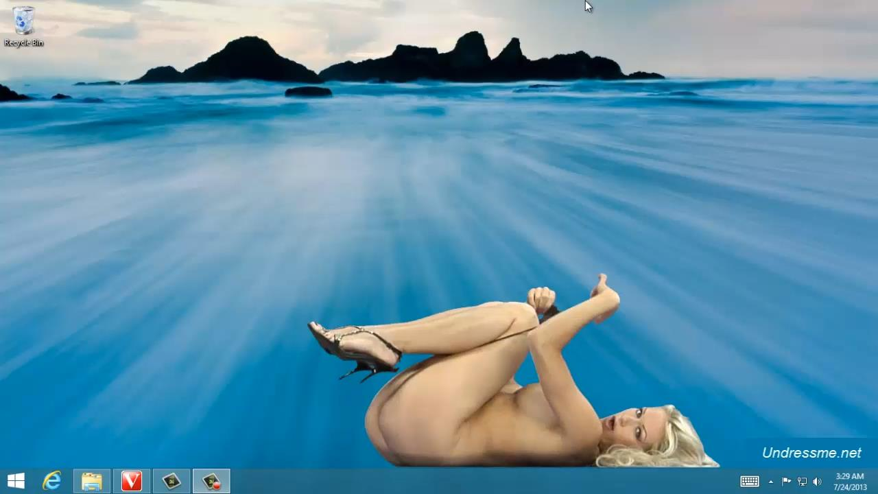 Stacy-strieborná Stacy Silver Virtua Girl Stripping na Desktop Virtua dievčatá HD