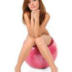 Anna Tatu sitting